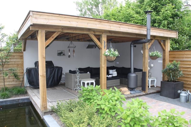 Burnies classic veranda 2 x 90 for Prijs veranda